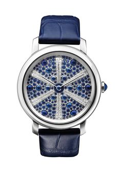 Navy watch by Boucheron Epure Oursin