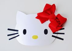DIY Hello Kitty Birthday Invitation