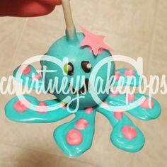 Octopus Cakepops   courtneyscakepops