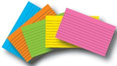 10 Super Index Card Ideas for Homeschool