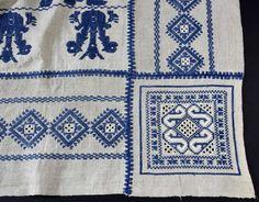 Russian folk embroidery