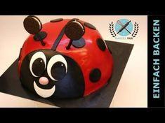 Ladybug Cakes, Cake Youtube, Sweets, Baking, Super, Birthday, Recipes, Marcel, Lady Bugs