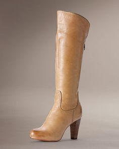 Women's Miranda Back Zip Boot - Sand