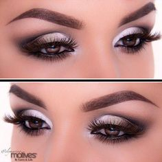 pink and broze gorgeous eye makeup