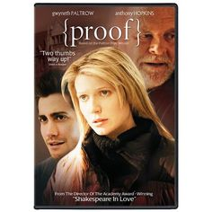 Gwyneth Paltrow as a female math genius+ Anthony Hopkins as her genius father--> What's not to love?