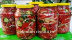 Salty Foods, Russian Recipes, Jamie Oliver, Pickles, Cucumber, Food And Drink, Stuffed Peppers, Canning, Vegetables
