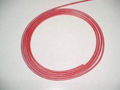 Dieses Angebot beinhaltet jeweils 1m Silikon-Kabel extrem geschmeidig, rot 0,5 mm²/qmm, 270 x 0,05 mm,