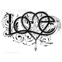 Tangles and Dangles   ...   LOVE