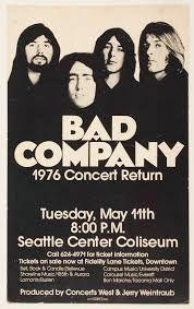 11.5.1976; bad company; usa, seattle, center coliseum; (db)