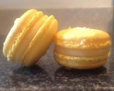 pineapple coconut macarons (2)