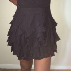 Skirt Kardashian Kollection Cascade Frill Skirt Kardashian Kollection Skirts