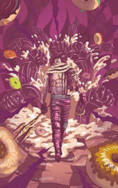 This Character Is Simply Gold Katakuri One Piece wallpaper android mobile, One Piece Monkey D Luffy Vs Charlotte Katakuri Hd -- -- this Zoro One Piece, One Piece Fanart, One Piece Images, One Piece Pictures, Doflamingo Wallpaper, Anime Zone, Big Mom Pirates, One Piece Wallpaper Iphone, Mobile Wallpaper