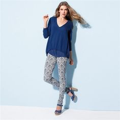 Los pantalones estampados son una de las tendencias de la temporada