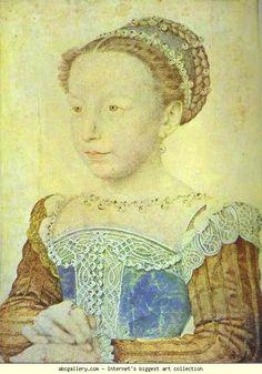 Francois Clouet. La reine Marguerite enfant. 1560