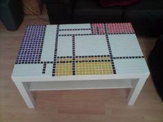 IKEA Hackers: Mondrian coffee table