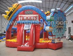 Midway combo inflatable sale #inflatablecombo #inflatablemidway #inflatablemanufacturer