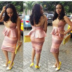 Stunning Looking #WeddingGuest! Lovely @FaithyTrip #AnkaraFab #WeddingDigestNaija