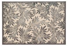 Colleen Rug, Ivory/Pewter on OneKingsLane.com