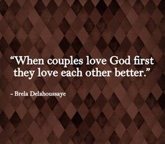 Romance Me: Marriage Quote: Love God First. We have done bible studies and every time we learn we put God first and our marriage is better ❤️ Great Quotes, Quotes To Live By, Me Quotes, Inspirational Quotes, Motivational, Queen Quotes, Funny Quotes, Marriage Advice, Love And Marriage