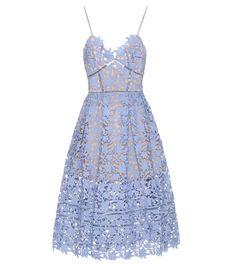 Azaelea light blue lace dress