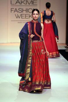 PINNACLE by Shruti Sancheti http://www.shrutisancheti.com/ @ Lakme Fashion Week Winter-Festive 2013 PHOTO: Yogen Shah