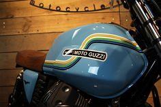 Peinture Moto Guzzi V7 Lyon