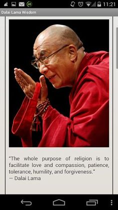 Nice Dalai Lama Wisdom is an amazing collection of Dalai Lama's quotes and sayings about love and friends... Best Quotes Success Check more at http://bestquotes.name/pin/128725/