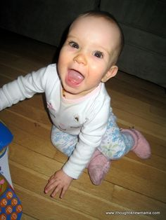 A Letter to My 10 Month Old Baby Gril