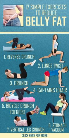 Fantastic workouts to reduce belly fat