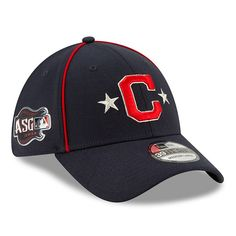 super popular fb758 4dd8d Cleveland Indians New Era 2019 MLB All-Star Game 39THIRTY Flex Hat - Navy