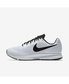 Nike Air Zoom Pegasus 34 White Black 887010-100. Annalistic · running 979d41f43