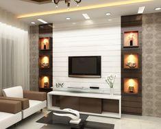 modern t v cabinet design ideas Tv Cabinet Design Modern, Modern Tv Unit Designs, Tv Unit Interior Design, Living Room Tv Unit Designs, Tv Wall Design, Tv Unit Furniture Design, House Design, Modern Tv Room, Modern Tv Wall Units