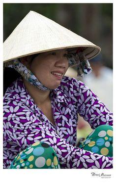 Floating markets, Mekong Delta, Vietnam  www.dorimoreno.com Mekong Delta, Vietnam, Beautiful People, Fashion, Moda, Fashion Styles, Fashion Illustrations