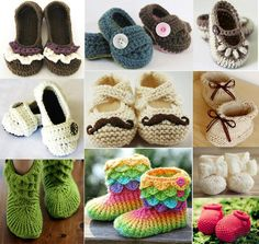 Crochet Baby shoes - More from Stylish EVe