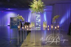Amazing setup and lighting at this #reception! Photo via #rachelaclingen