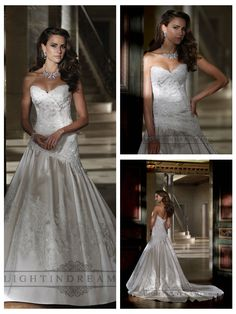 Strapless A-line Sweetheart Lace Applique Beaded Wedding Dresses  #wedding #dresses #dress #lightindream #lightindreaming #wed #clothing   #gown #weddingdresses #dressesonline #dressonline #bride  http://www.ckdress.com/strapless-aline-sweetheart-lace-applique-  beaded-wedding-dresses-p-30.html