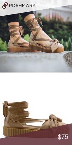 2188d7a049d Puma Fenty by Rihanna Creeper Bow Platform Shoes New in Box (missing lid)