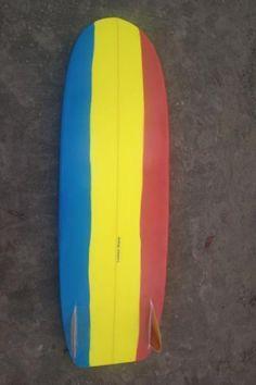 Stunning board for @ary.lemos shaped by @loubackemerson measuring 6'0 x L 22 x E 3'13. #minisimmons #minisimmonssurfboard #stoke #shapers #surfboardshaping #surfingislife