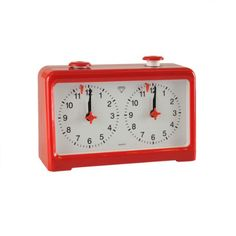 Wholesale Chess Diamond Quartz Battery Powered Analog Chess Clock - Red -- Read more  at the image link.