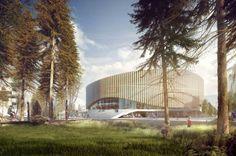 1° Lugar -  Arena de Copenhague / 3XN Architects  (1)