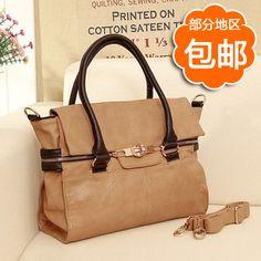 color block tote 2013 large   High quality color block women's handbag portable 2013 women's handbag ...