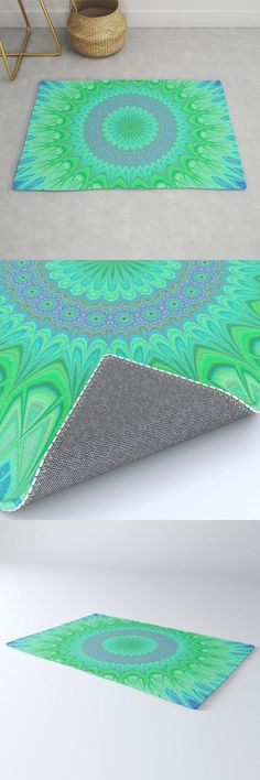 Crystal Mandala Rug by David Zydd #MandalaRug #BestRugs #Artwork #Mandala #Interior #Society6 #Color #Gift #MandalaHomeDesign (tags: oriental, interior, colorful, mandala art, sacred, mandala decoration, home design, room decor, home, decor, yoga, mandala home decor, design, color, interior design)