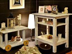 Jak udělat patinu na dřevěném nábytku - Novinky.cz Kitchen Cart, Entryway Tables, Shabby, Furniture, Home Decor, Internet, Ideas, Decoration Home, Room Decor