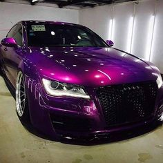 AUDI S7 Purple #purple #colors #pantone #audi #audis7 #sports #car #luxury