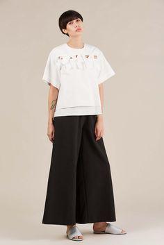 Elise blouse, White