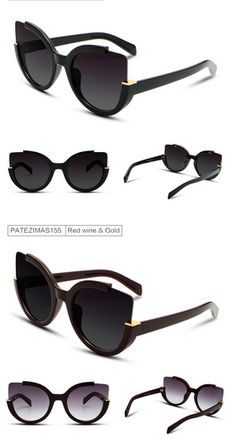 00d74becf44 Cat Eye Sunglasses Women 2017 High Quality Brand Designer Vintage Fashion  Driving Sun Glasses For Women