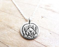 Tiny Goldendoodle necklace Golden doodle by lulubugjewelry on Etsy