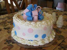 gender reveal cakes   Gender Reveal Cake   Flickr - Photo Sharing!
