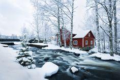 Varrella virran 🌊 🌊🌊 Along the stream #Rautalampi #Finland - photo by 📸Maarit Latvala - Satu Karlin (@KarlinSatu) | Twitter