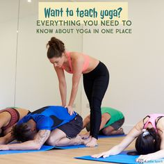Teach yoga....it's the gift that keeps on giving